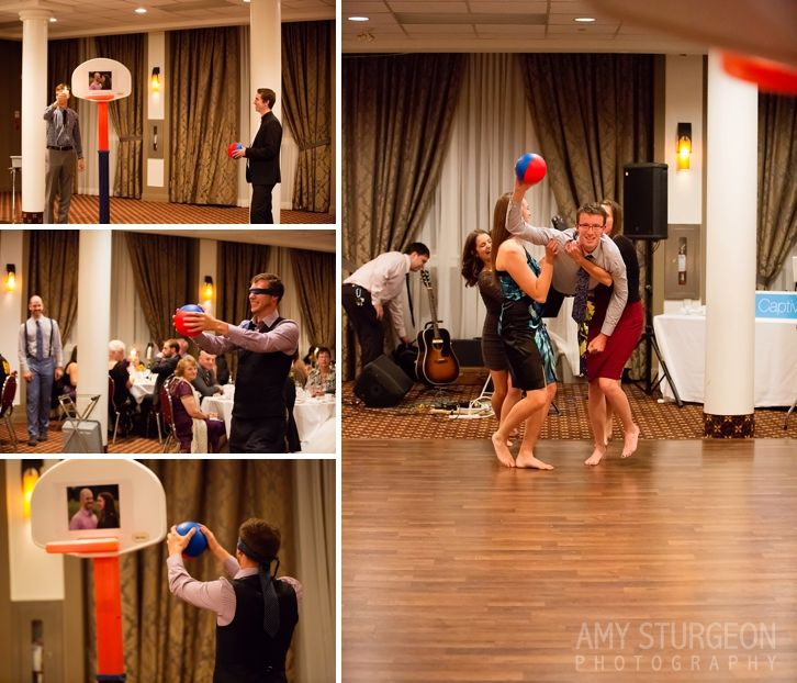 Loved This Unique Kissing Game For The Wedding Reception