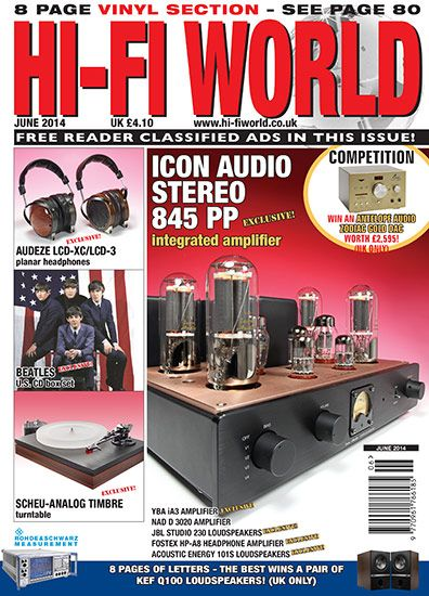 Hi-Fi World: Come see what's in the June issue of Hi-Fi World, now