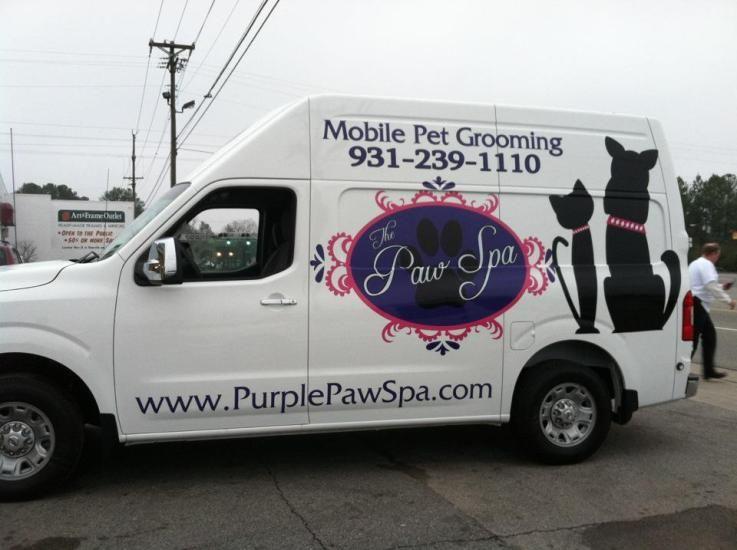 Paw Spa Wrap Mobile Pet Grooming Grooming Dog Grooming