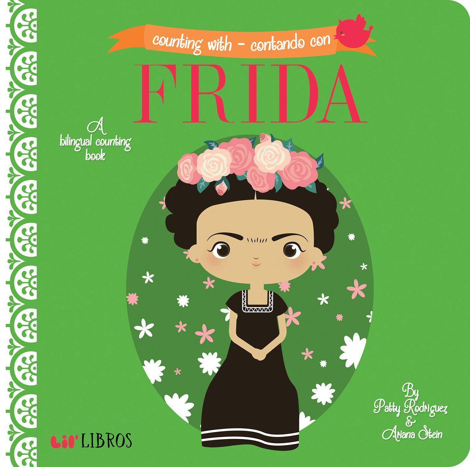 Frida Board Book In 2020 Bilingual Book Spanish Books Counting Books