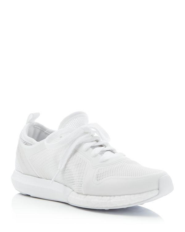 Adidas by Stella McCartney ClimaCool Sonic encaje hasta zapatillas de deporte