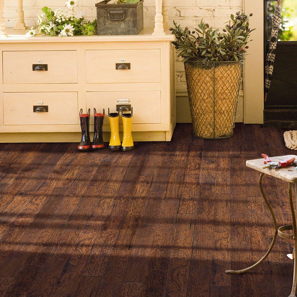 Adura Summit Hickory Chesnut Luxury Vinyl wood Planks