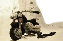 This would be PERFECT for Aiden -- he sleeps with his motorcycle, that is metal/plastic as it is!