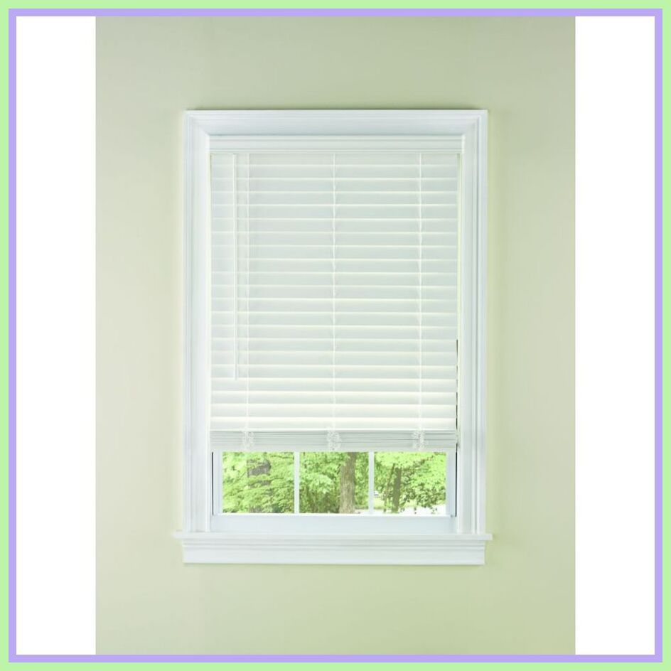 64 Reference Of Wood Blinds White Lowes In 2020 White Faux Wood Blinds White Wood Blinds Wood Blinds