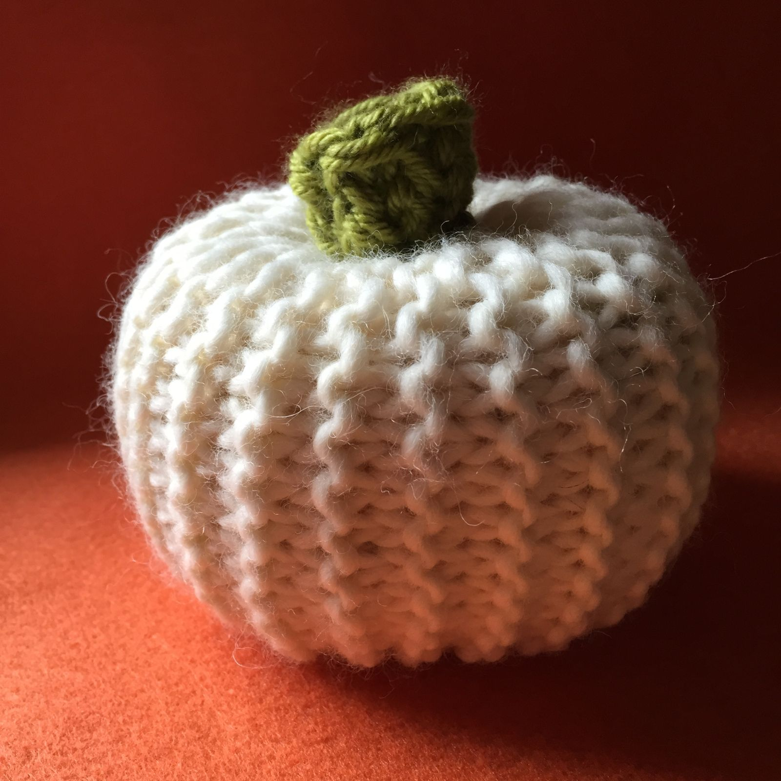 Make a knit pumpkin or even a pouf chunky yarn stockinette make a knit pumpkin or even a pouf bankloansurffo Images