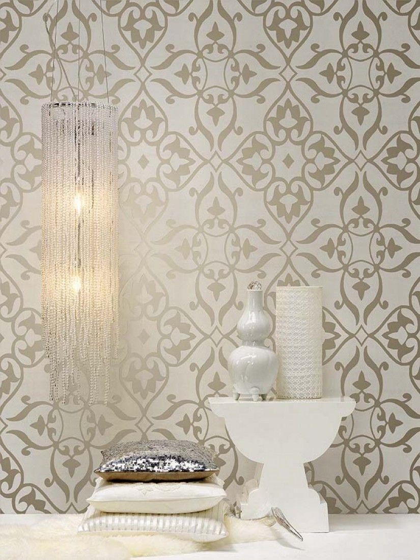 Wallpaper Boreas Cream Dekor Haus Deko Tapeten