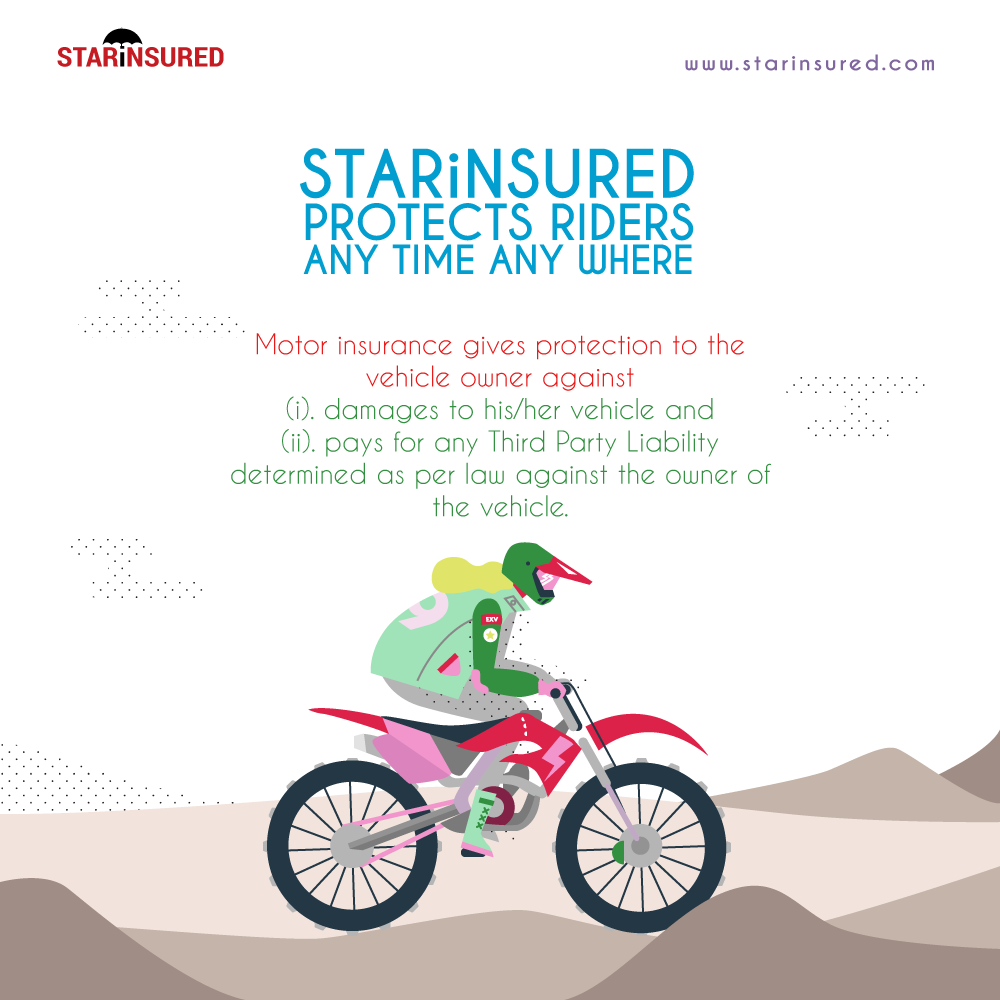 We help Riders to have complete protection while riding ...