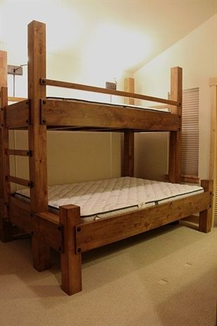 Wooden Bunk Beds Bed