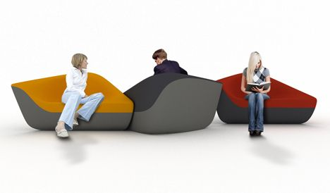 Schön Seating Stones By UNStudio