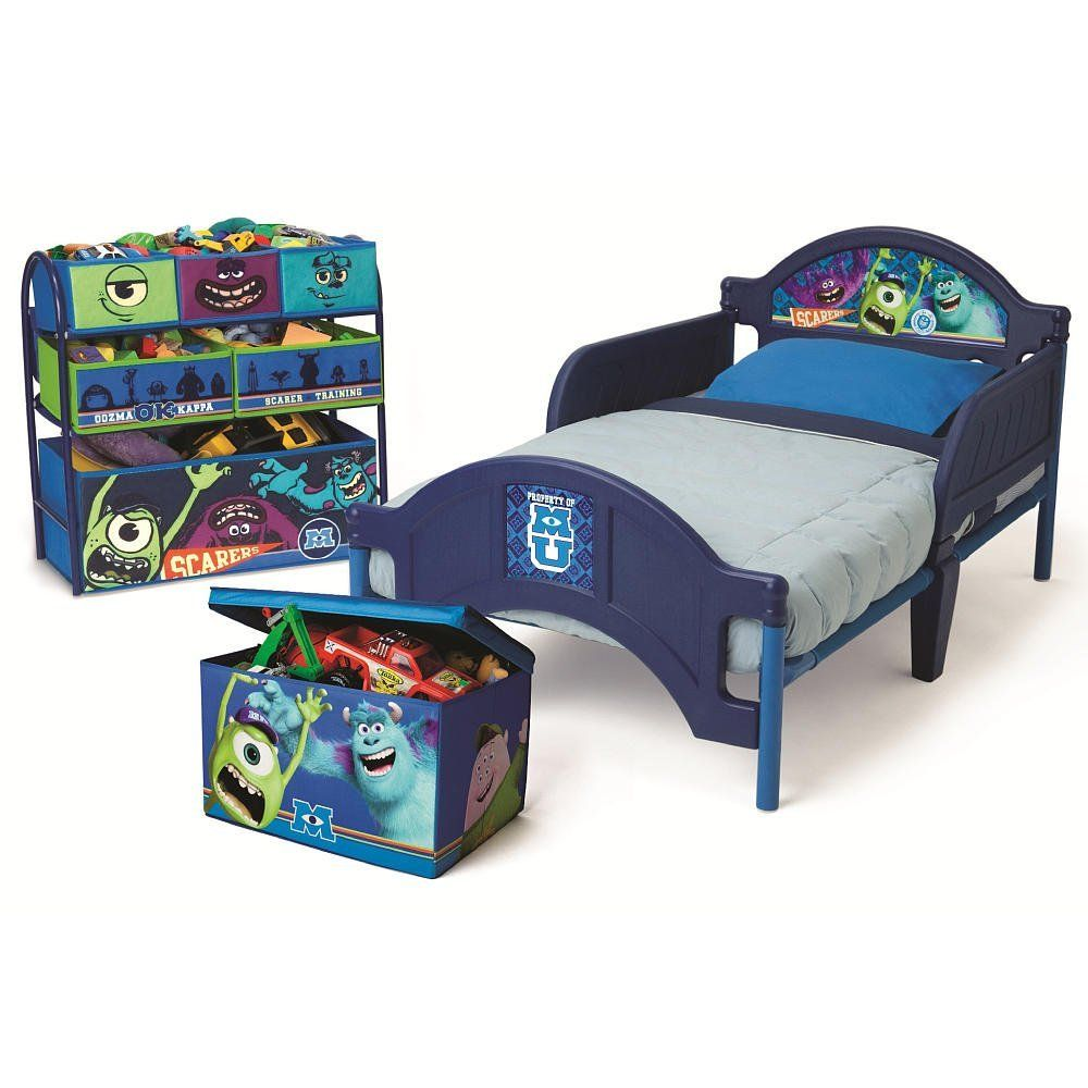 Disney Pixar Monsters University 3 Piece Room In A Box
