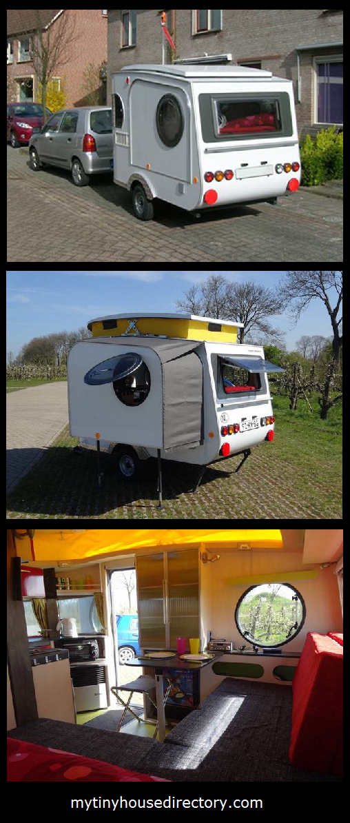 Mytinyhousedirectory Expandable Lightweight Micro Camper