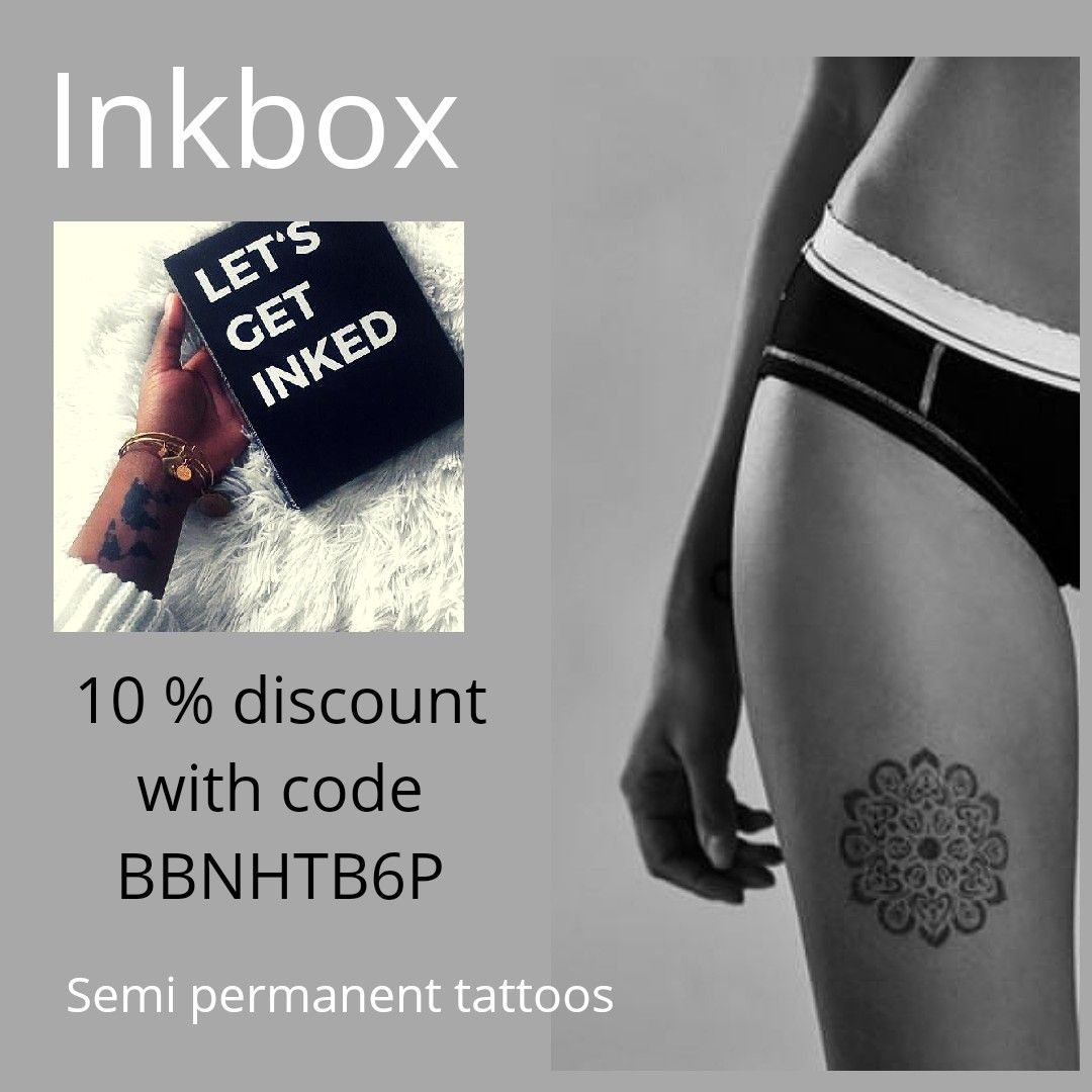 10 discount off semi permenant tattoos (With images