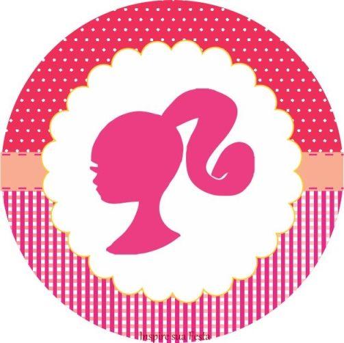 Duel Birthday Decor Zebra Barbie And Princess Themes: Barbie Rosa Kit Festa Grátis Para Imprimir