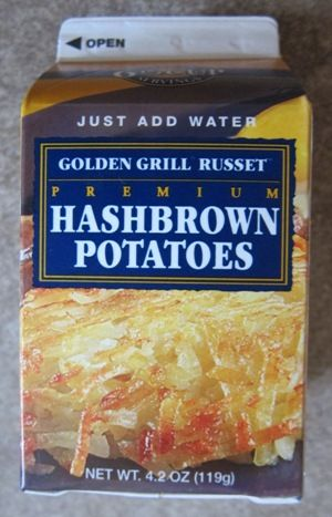 ef54d200 Dehydrated Dried Hashbrowns From Costco   Convenience Foods ...
