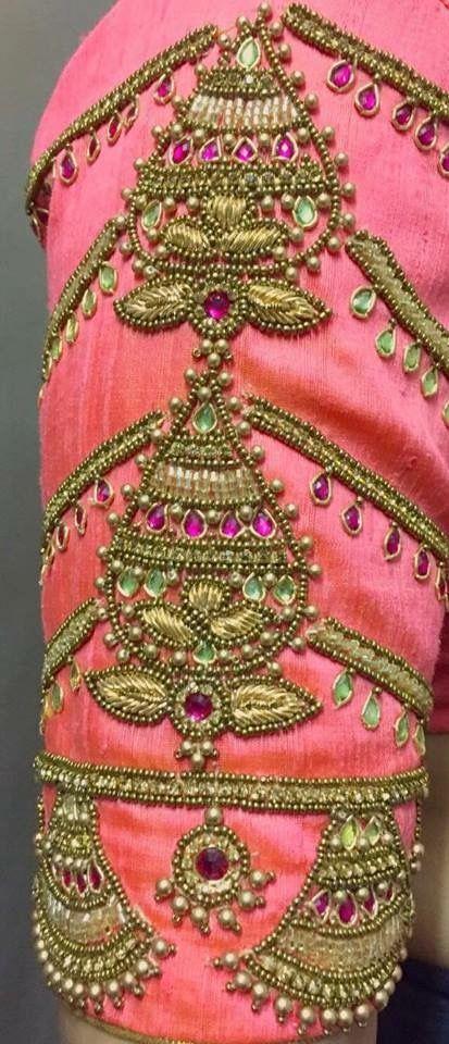 To order pls what   app on saree blouse patterns sari also pin by sheeba devi aari work in designs rh za pinterest