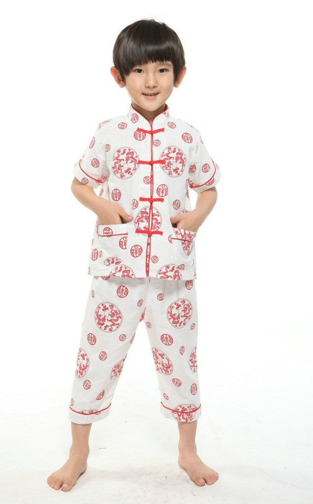 26d758825e Boys Red Dragon Pajamas