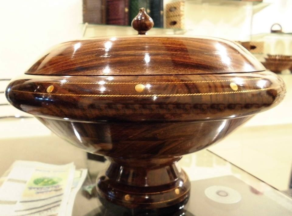 Wooden Dry Fruit Box Hand Made Hand Carved Best Gift for Winters. #ChiniotInteriors