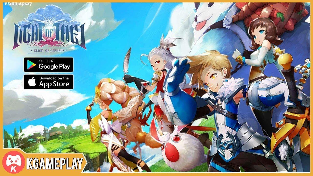 Light of Thel Gampelay MMORPG Android iOS trong 2020 (Có