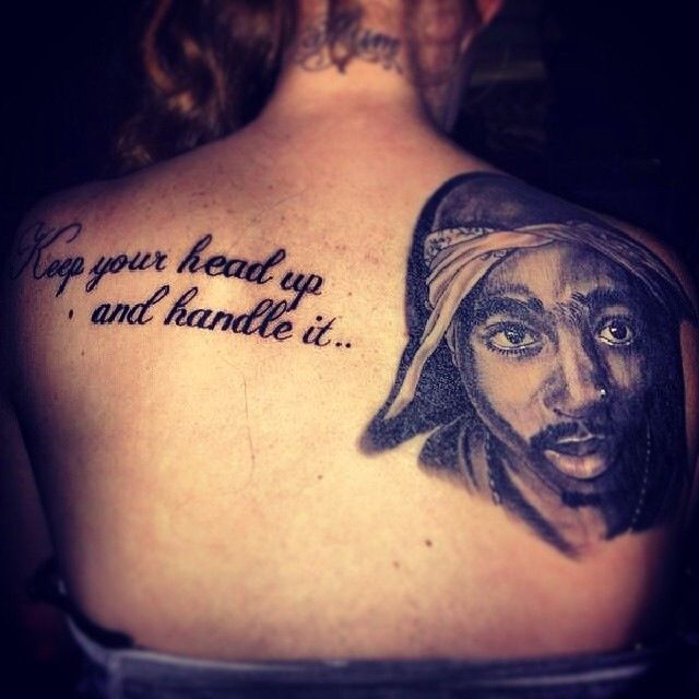 Tupac Tattoo Xx I Want This As My First
