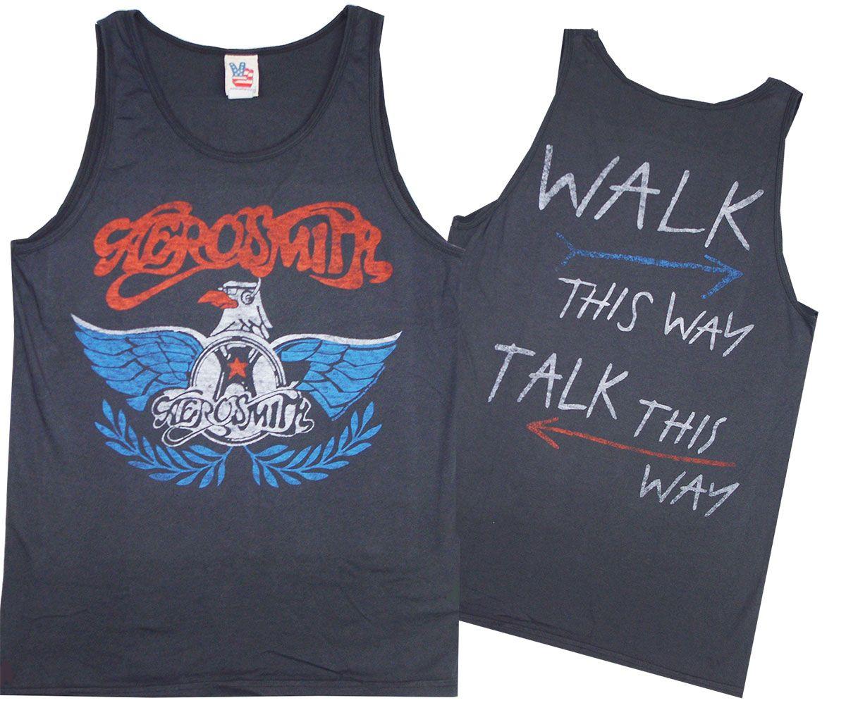 Walk This Way Aerosmith Tank Aerosmith Walk This Way