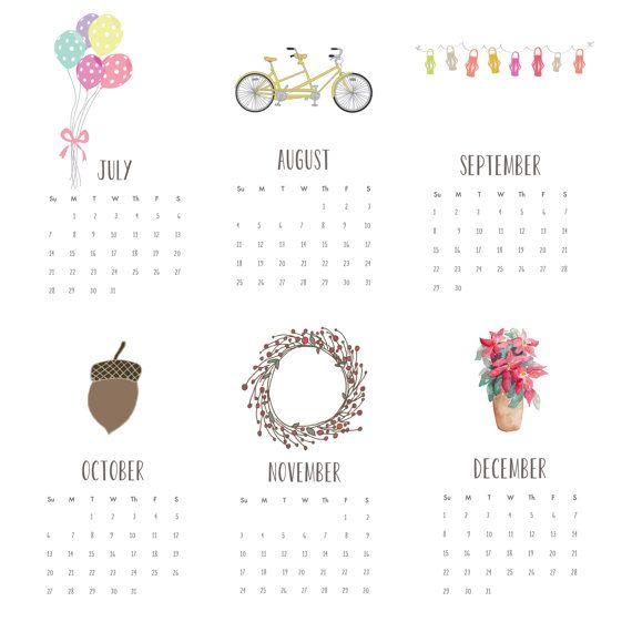 2013 Calendar 4x6 Desk Calendar For Work Home School Wall