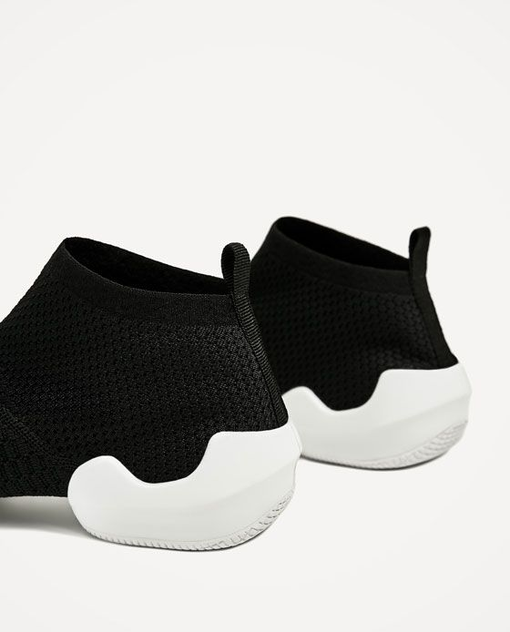 Image 7 of SOCK SNEAKERS from Zara
