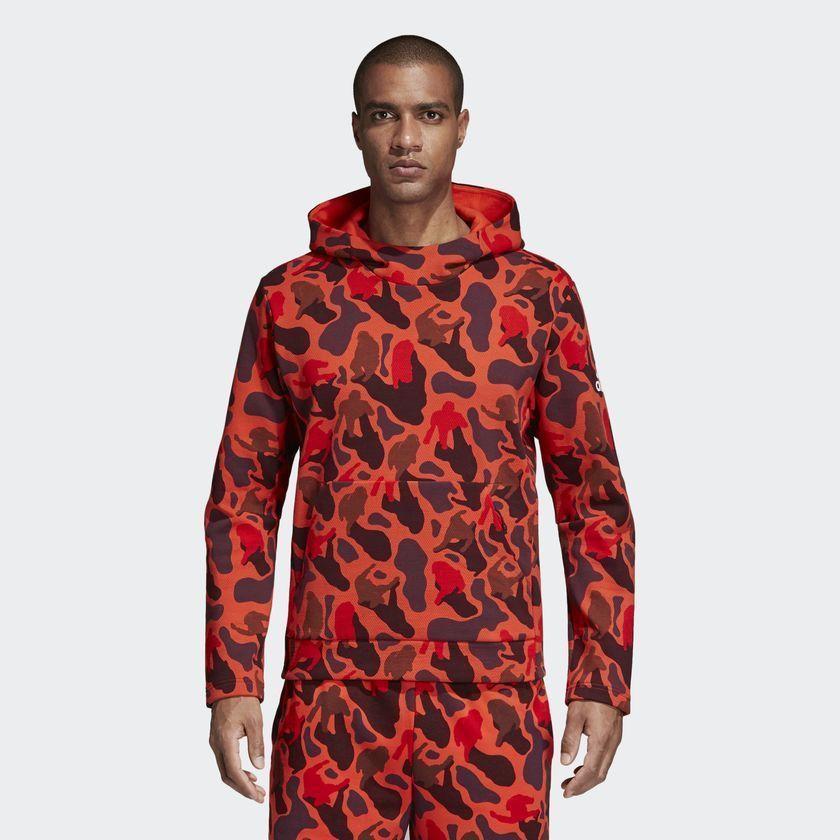 adidas exclusive x pharrell williams N.E.R.D red orange camo