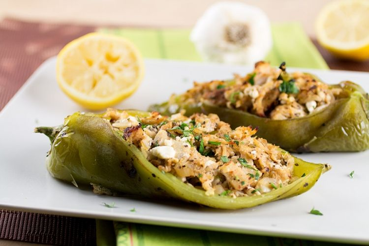 Chicken And Cheese Stuffed Anaheim Peppers Stuffed Peppers Stuffed Anaheim Peppers Peppers Recipes