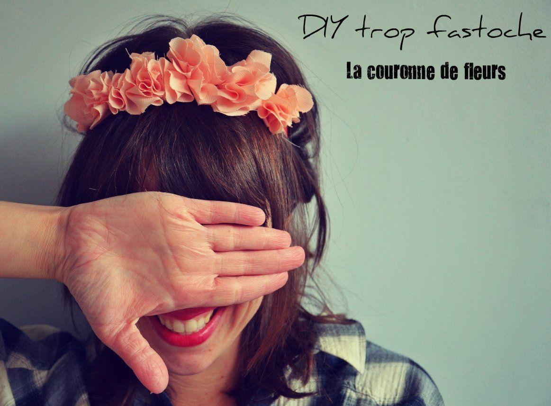 Idees 2 Look: DIY : la couronne de fleurs trop fastoche