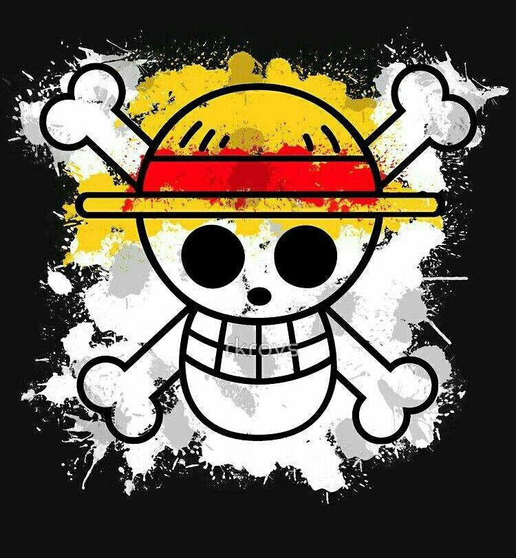 Straw Hat Crew Pirates Mugiwara Flag Skull Crossbones One Piece Personagens De Anime Manga Imagens Anime