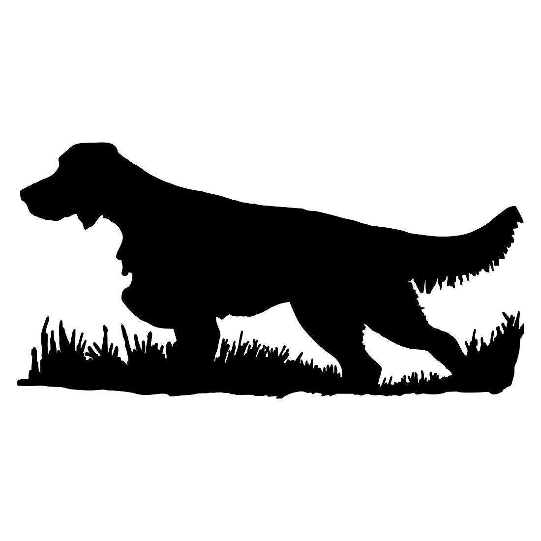 Gordon Setter HIGH QUALITY Vinyl Decal Sticker Color Choice