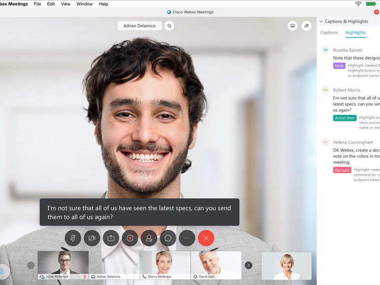 Cisco Brings New Ai Functionality To Webex Zdnet Pr Newswire Cisco Personalized Experience