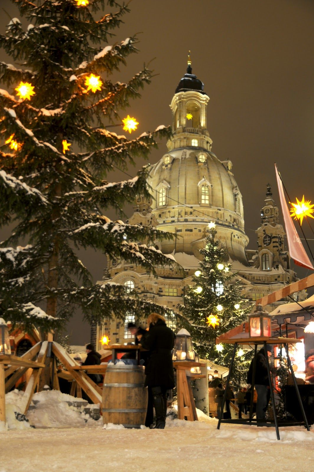 Neumarkt Christmas market, in Dresden Christmas in