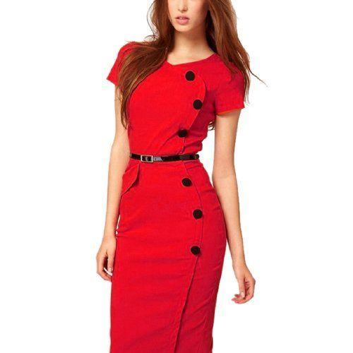 Womens Kleid Wirk Short Sleeve Dress More & More LpLSIKaE