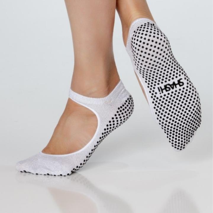 Calze Donna Toesox Grip Pilates Barre Socks-Non Slip Ankle Full Toe for Yoga /& Ballet