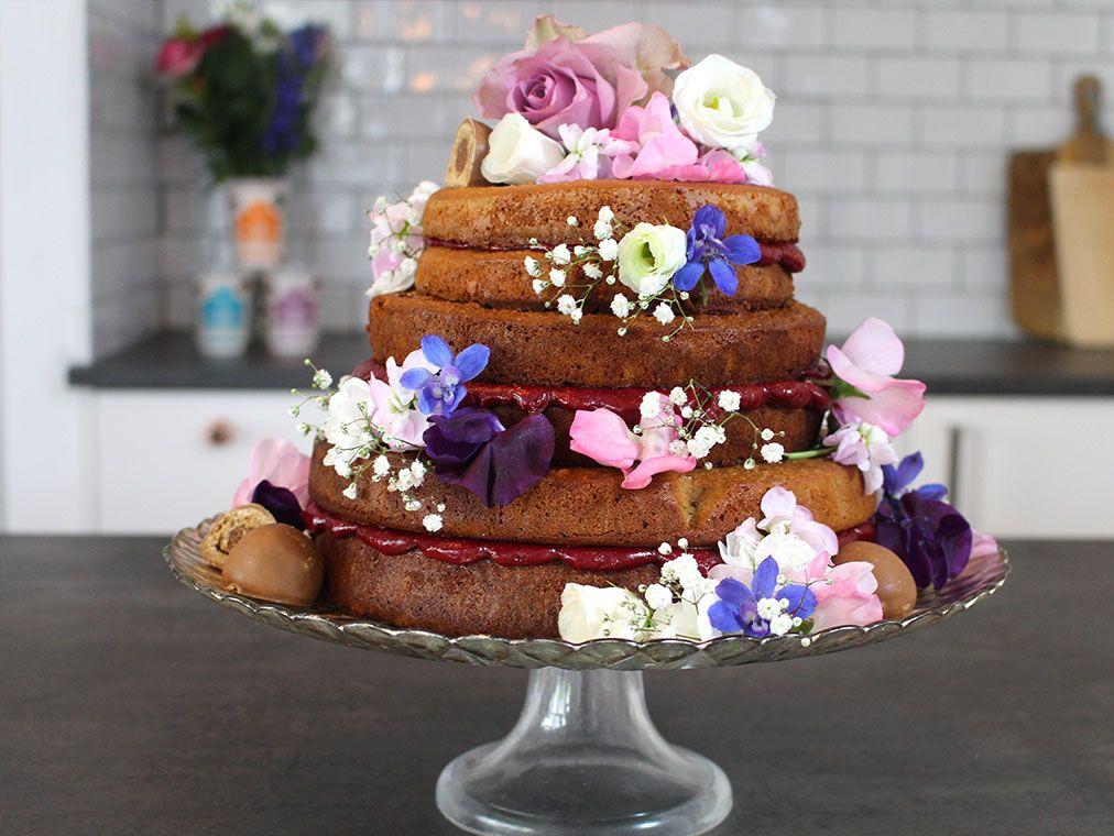 Exclusive how to make a vegan wedding cake