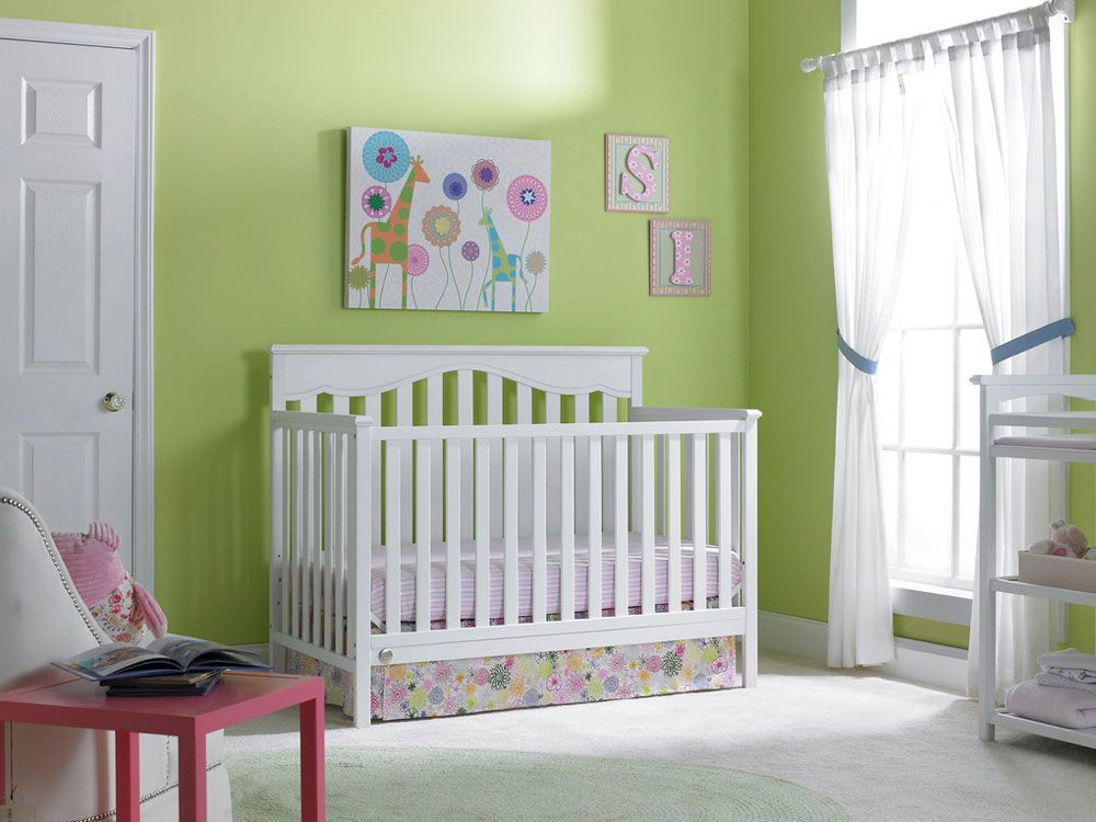 cribs shipping as practical craftsmanbb the white crib free convertible solution design cheap baby