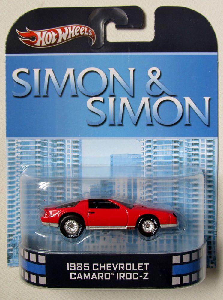 HOT WHEELS 2013 RETRO TV SHOWS SIMON & SIMON 1985 CHEVY