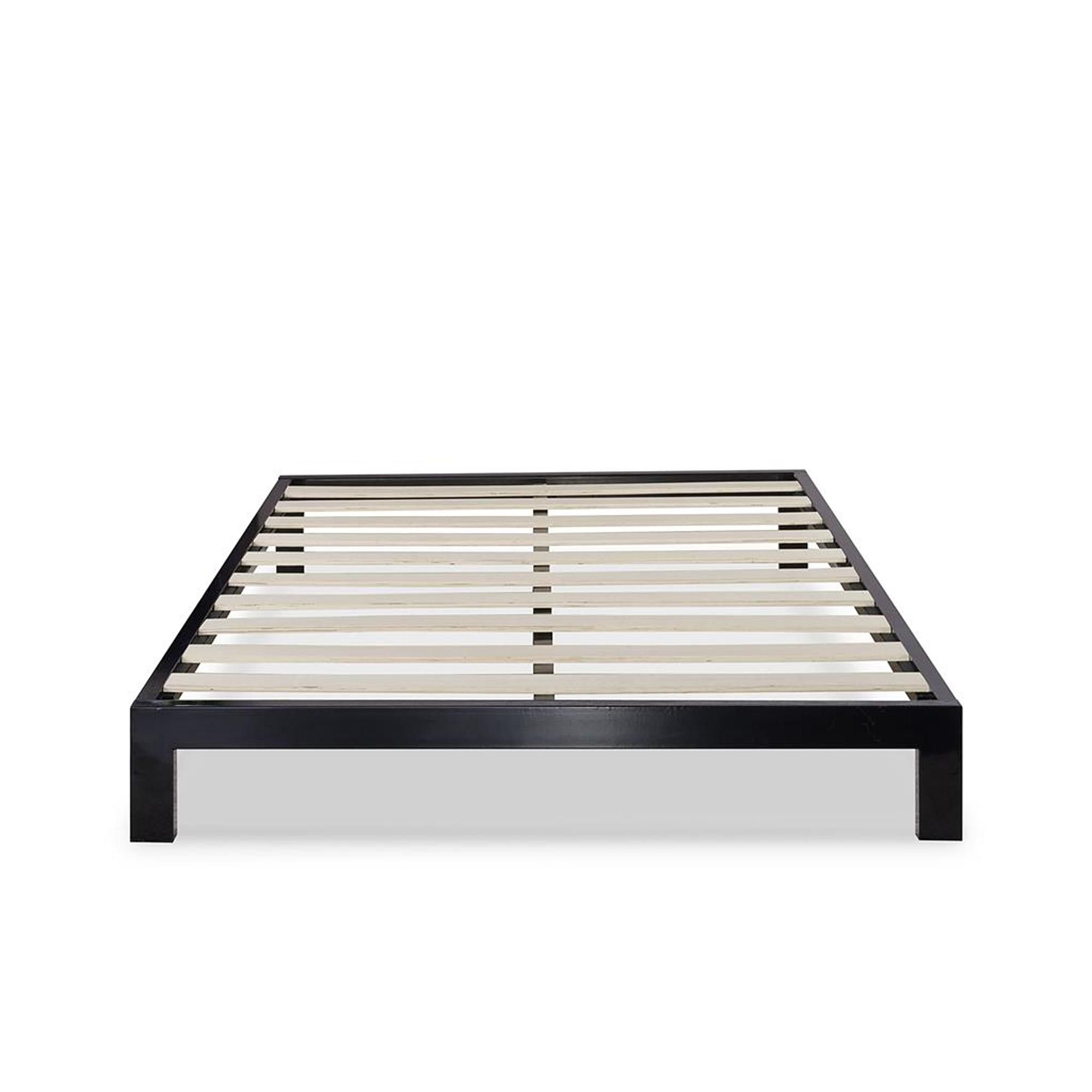 Modern Studio Metal Platform Bed 2000 Home Mattresses Accessories Bed Frames Adjustable Bases Bed Frame Mattress Metal Beds Metal Platform Bed