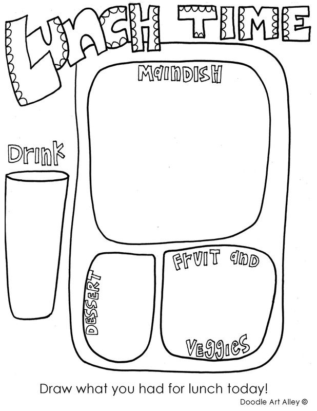 Free Back to School Coloring Pages and Printables. Great