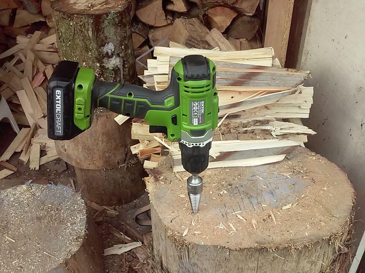 Holzspalter Kegelspalter Drillkegel Rechtsgewinde für Bohrmaschine Fällkeil g