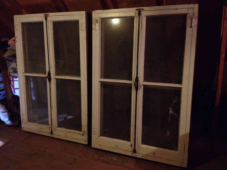 Fenêtres et cadres pour les fenêtre du salon qui donne sur la - Peinture Porte Et Fenetre