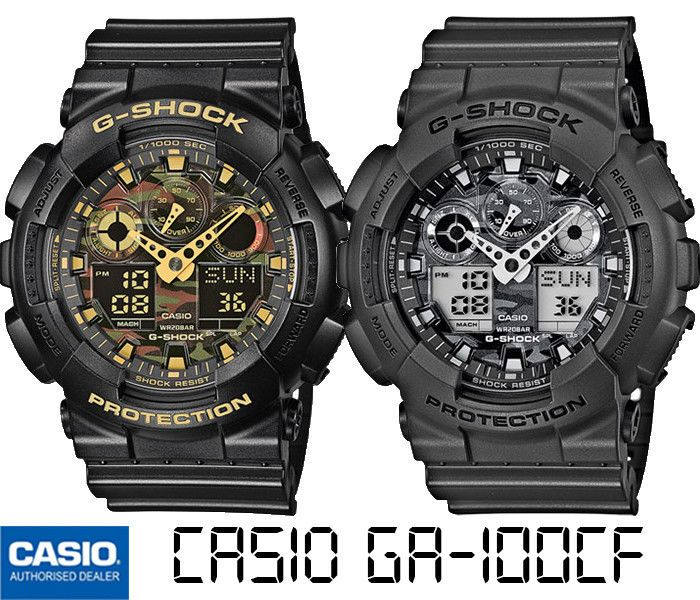 CASIO GA-100CF-1A9ER GA-100CF-8AER GA-100CF-1A9 GA-100CF-8A G-SHOCK ... 572400d24655