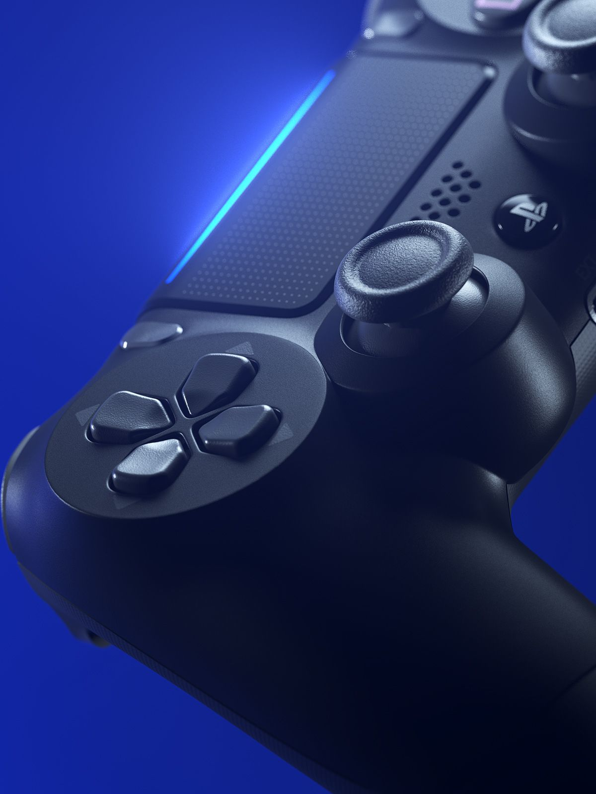 Playstation Light On Behance Playstation Gaming Wallpapers Console
