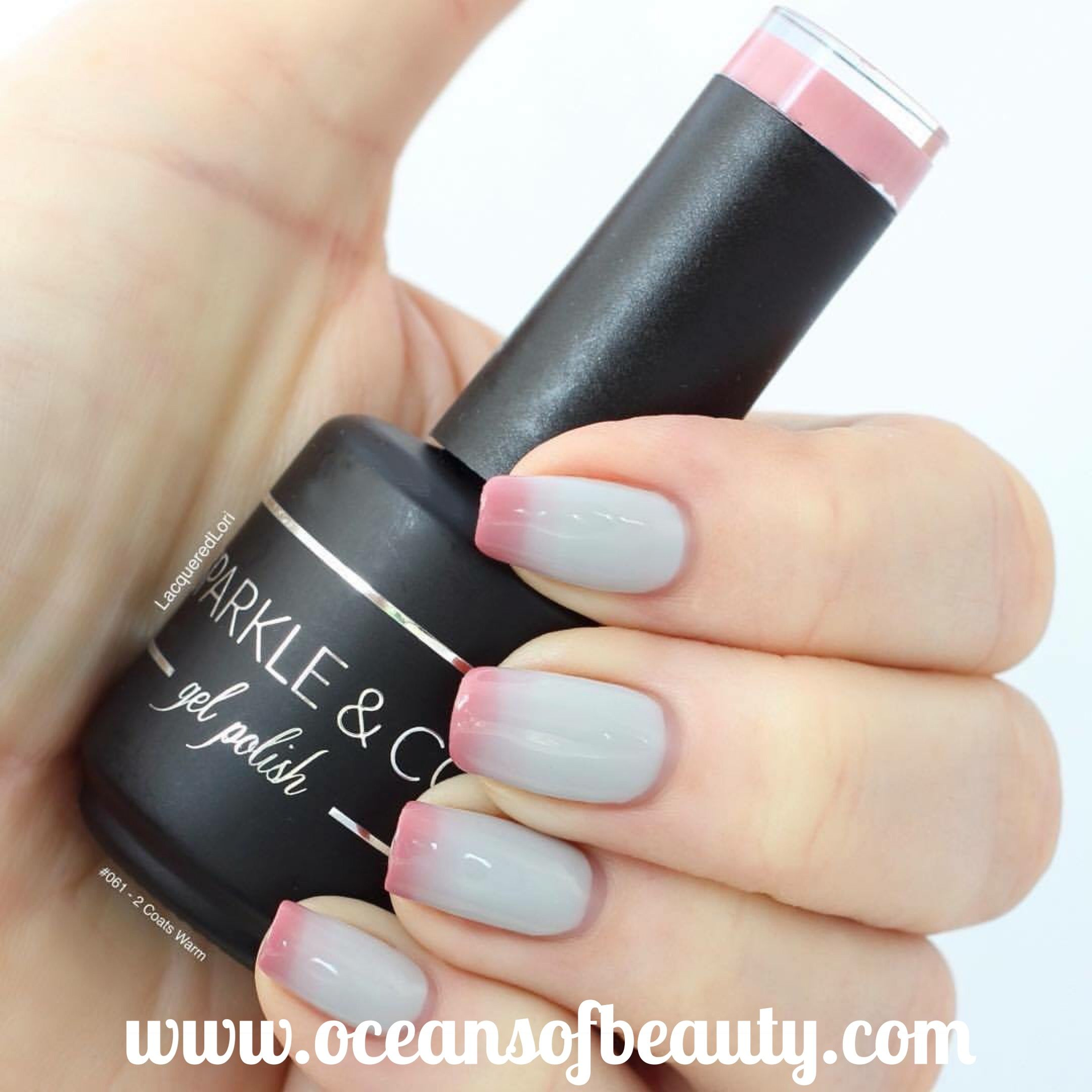 061 Sparkle & Co. Gel Polish. Lasts 2-3 weeks and can be used in ...