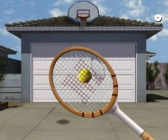 Bakko Backboards What S With All The Racquet Wooden Garage Tennis Balls Racquets