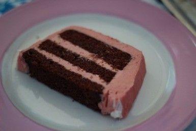 Erdbeer Buttercreme Torte - Die Jungs kochen und backen