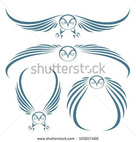 snowy owl tattoo - Google Search