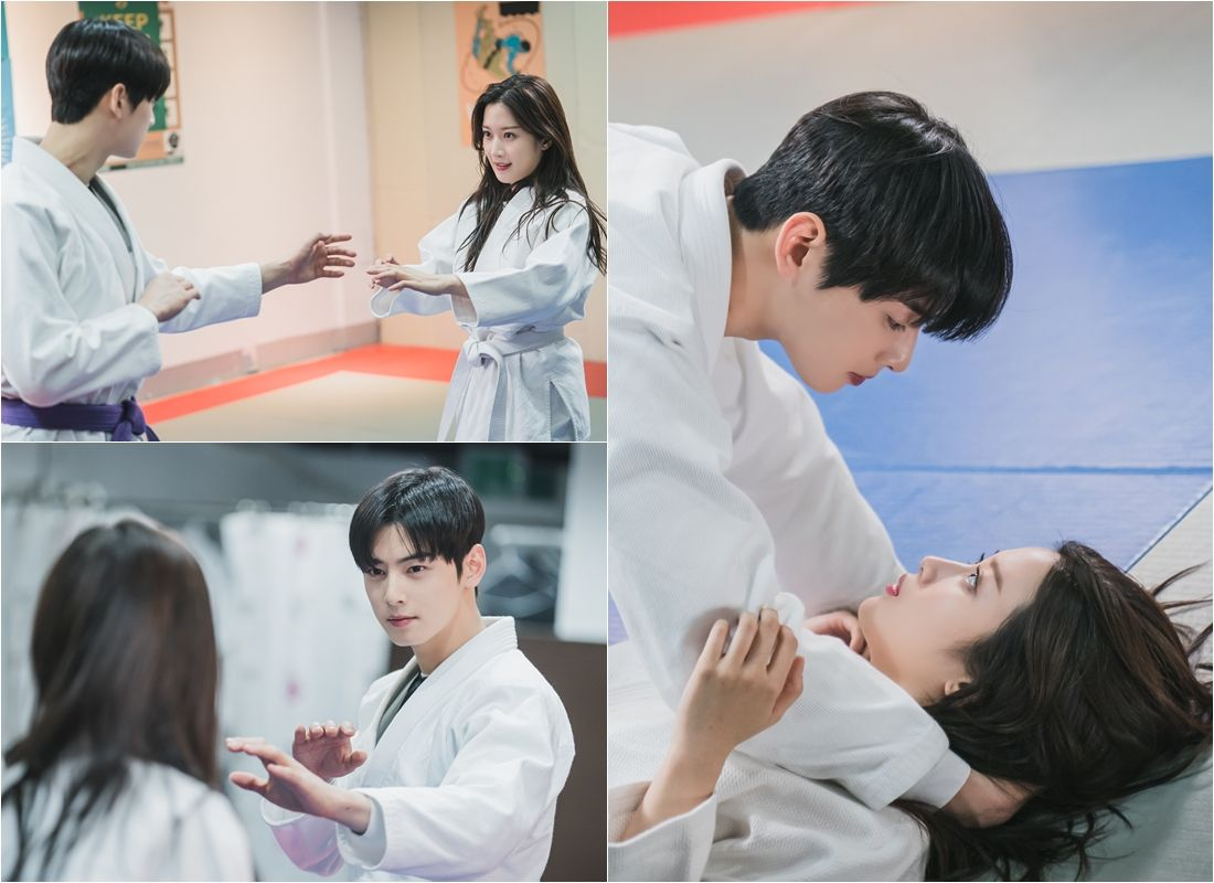 Cha Eun Woo and Moon Ga Young's sweet Jiu-Jitsu dating is released and the excitement explodes.