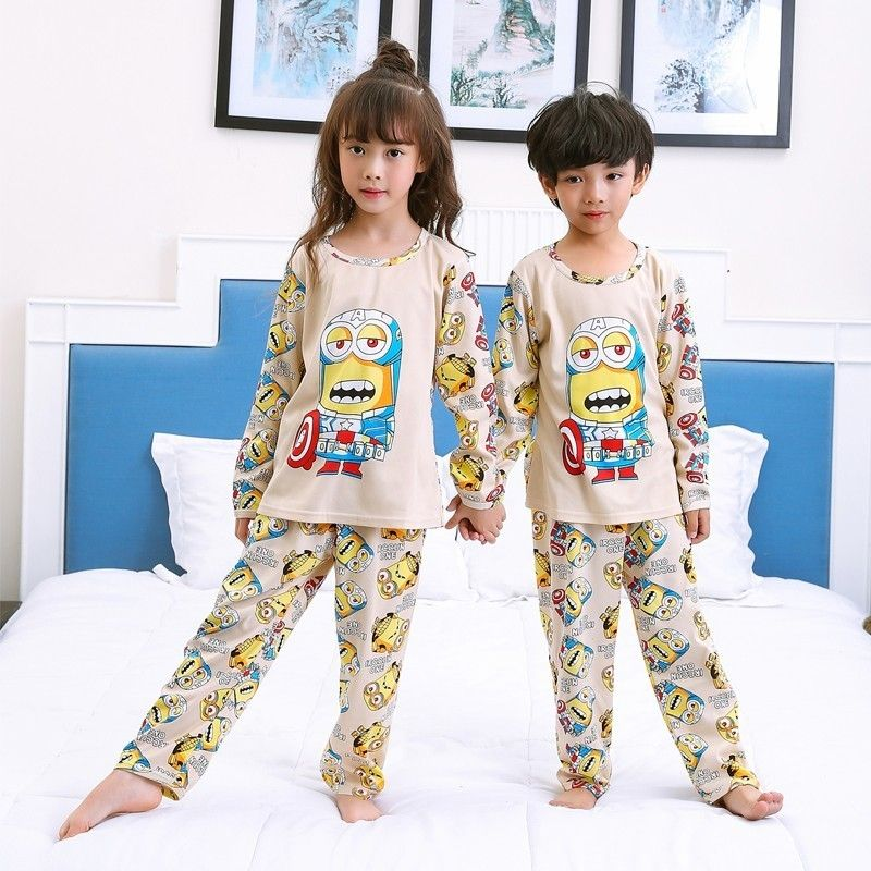 00446c54432d New Listing 2017 Children Clothing Autumn Winter Girls Baby Pajamas ...
